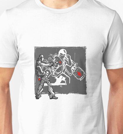 Ninja Graffiti Artist Spray Painting Unisex T-Shirt