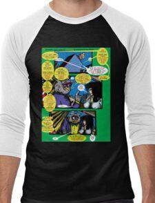 Bird of Steel Comix – # 6 of 8 -  (Red Bubble POP-ART COLLECTION SERIES)  Men's Baseball ¾ T-Shirt