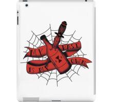 Black Widow Flash MKIII iPad Case/Skin