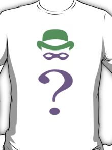 The riddler minimalist T-Shirt
