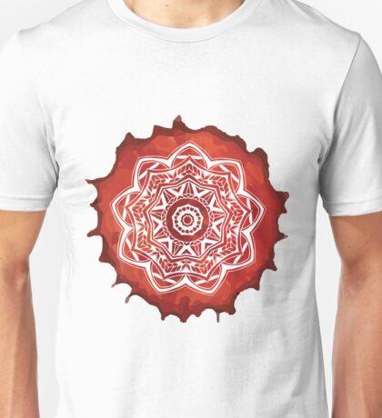 Watercolour Mandala Pattern  Unisex T-Shirt