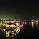 Nile by night by heinrich