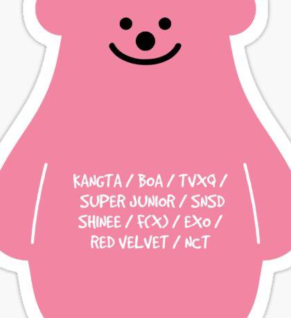 smtown bear Sticker