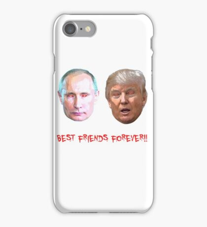 Zombie Trump and Putin bff iPhone Case/Skin