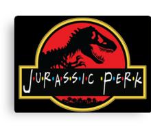 Jurassic Perk Canvas Print