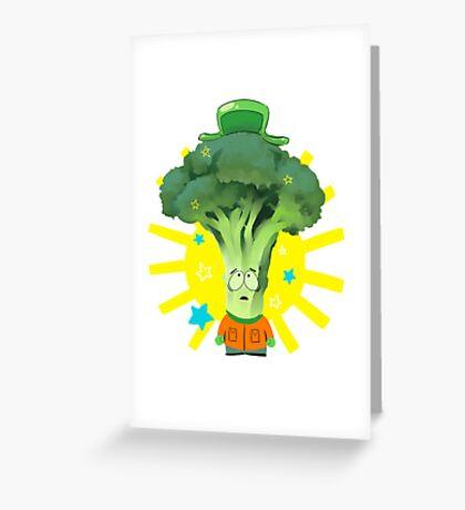 Kyle Broccoli Greeting Card