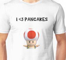I <3 PANCAKES Unisex T-Shirt