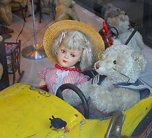 Antique Teddy Bear Got Company by Mythos57