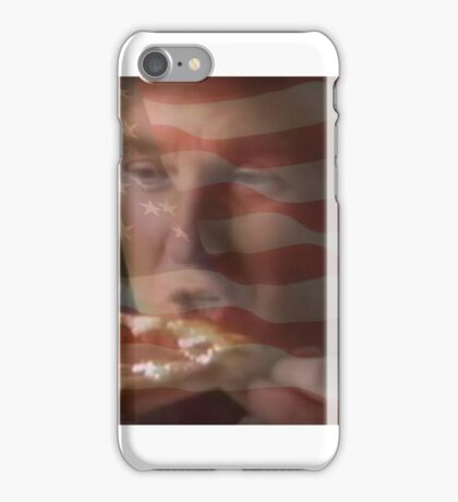 President Trump Eating Pizza iPhone Case/Skin