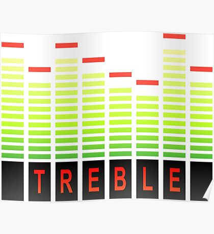 Treble levels. Poster