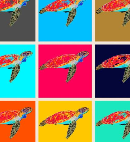 Colours of the reef Sticker