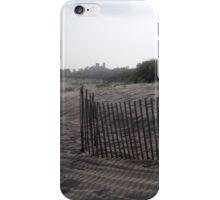 Snow Fence - East Hampton Beach iPhone Case/Skin
