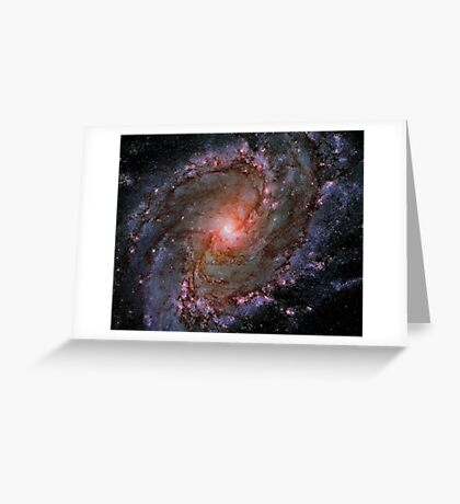 """Exclusive """" Space """" a 7 (c)(h) olao-olavia by okaio créations 2017 Greeting Card"""