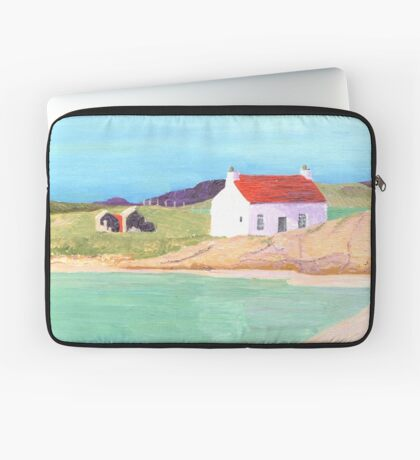 Hebridean Bay 2 Laptop Sleeve