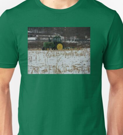 Tractor Green Tractor Unisex T-Shirt