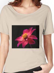 Pink Flower Women's Relaxed Fit T-Shirt