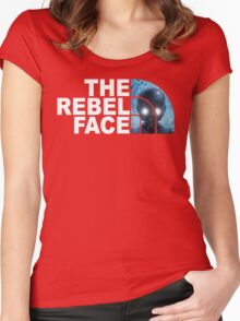 The Face of Hope Women's Fitted Scoop T-Shirt
