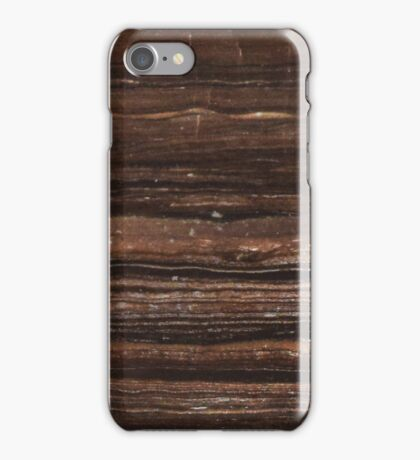 Brown Marble Pattern iPhone Case/Skin