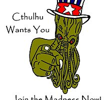 Cthulhu Wants You by imphavok