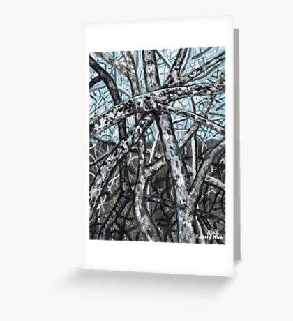 'Blue Ridge Ruminations #9' Greeting Card