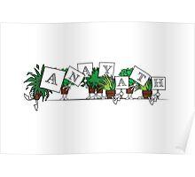 Plant Poses - Anayath Poster