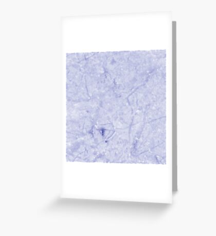 Marble - Distant Planet Blue Marble Greeting Card