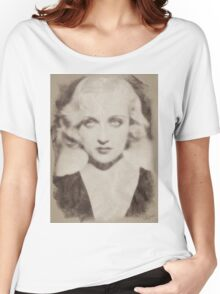 Carole Lombard, Vintage Hollywood Actress Women's Relaxed Fit T-Shirt