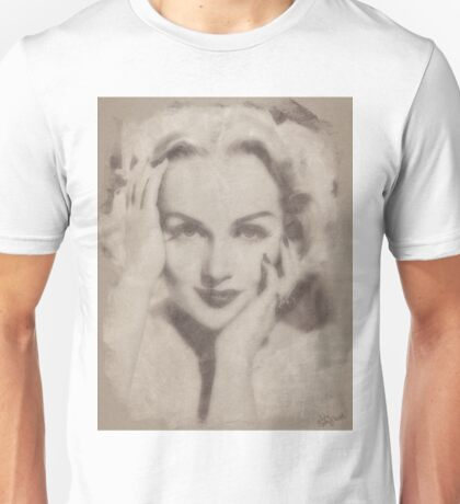 Carole Lombard, Vintage Hollywood Actress Unisex T-Shirt