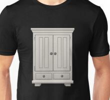 Glitch furniture tallcabinet basic white tall cabinet Unisex T-Shirt