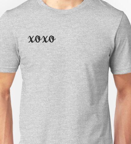 XOXO Kisses and Hugs My Valentine Unisex T-Shirt