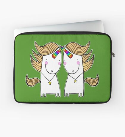 Uni and Una  Laptop Sleeve