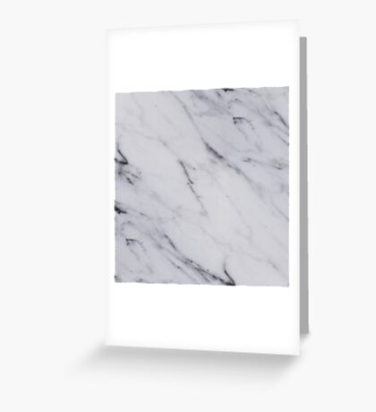 Classic Marble Greeting Card
