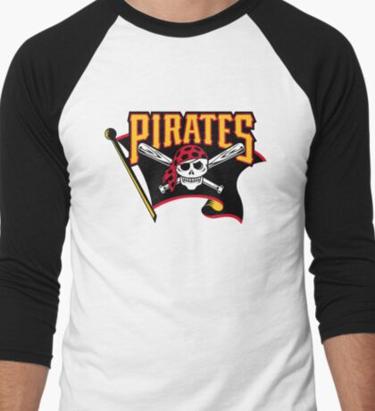 pirates baseball Men's Baseball ¾ T-Shirt