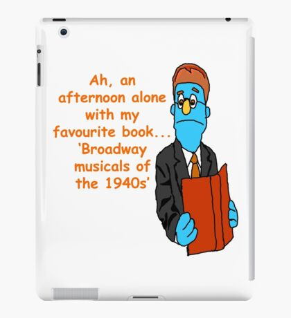 Avenue Q Rod Broadway Musicals of the 1940s iPad Case/Skin