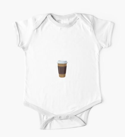 Espresso Yourself One Piece - Short Sleeve