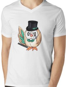 Rowlet The Fabulous Mens V-Neck T-Shirt