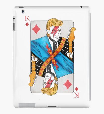 Ziggy Stardust - King of Diamonds - David Bowie iPad Case/Skin
