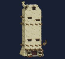 Glitch furniture tower chassis basic tower Kids Tee