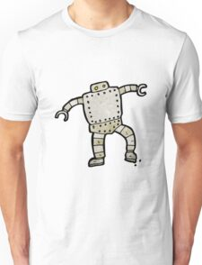 cartoon robot Unisex T-Shirt