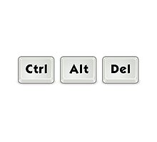 Ctrl Alt Del Key by TheBestStore