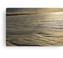 Paradise Beach Textures Canvas Print