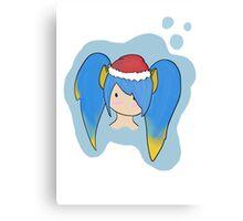 Christmas chibi sona Canvas Print