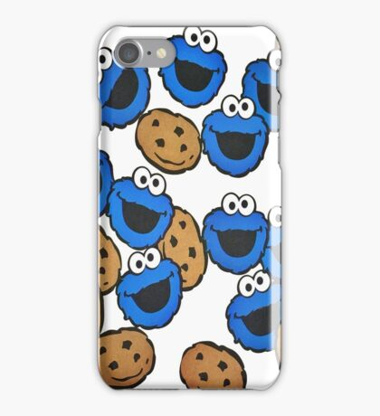 pattern Cookie Monster iPhone Case/Skin