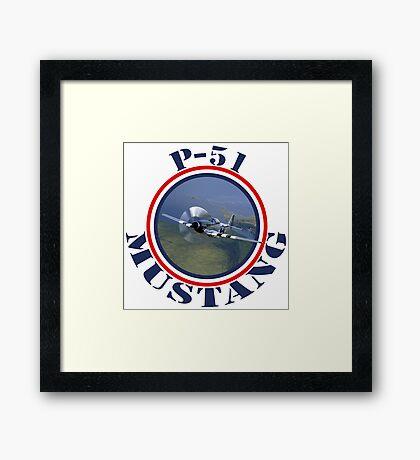 Mustang Fighter Framed Print