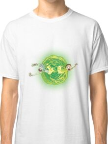 Rick And Morty Spin Classic T-Shirt