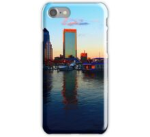 Downtown Jacksonville at Sunset iPhone Case/Skin