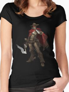 Overwatch - Mccree Women's Fitted Scoop T-Shirt