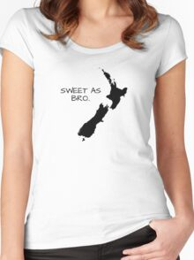 Sweet As Bro Women's Fitted Scoop T-Shirt
