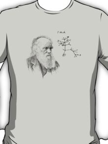 Darwin's thought.. T-Shirt