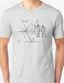 We come in peace - Hippy message to alien civilisations T-Shirt